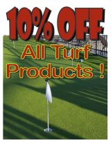 Turf and Putting Green Sale