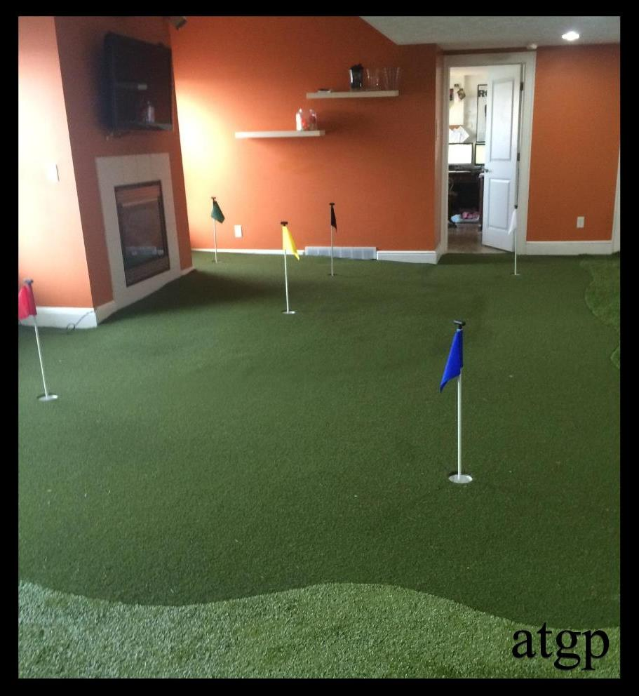 custom indoor putting green