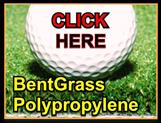 Polyproplene putting greens