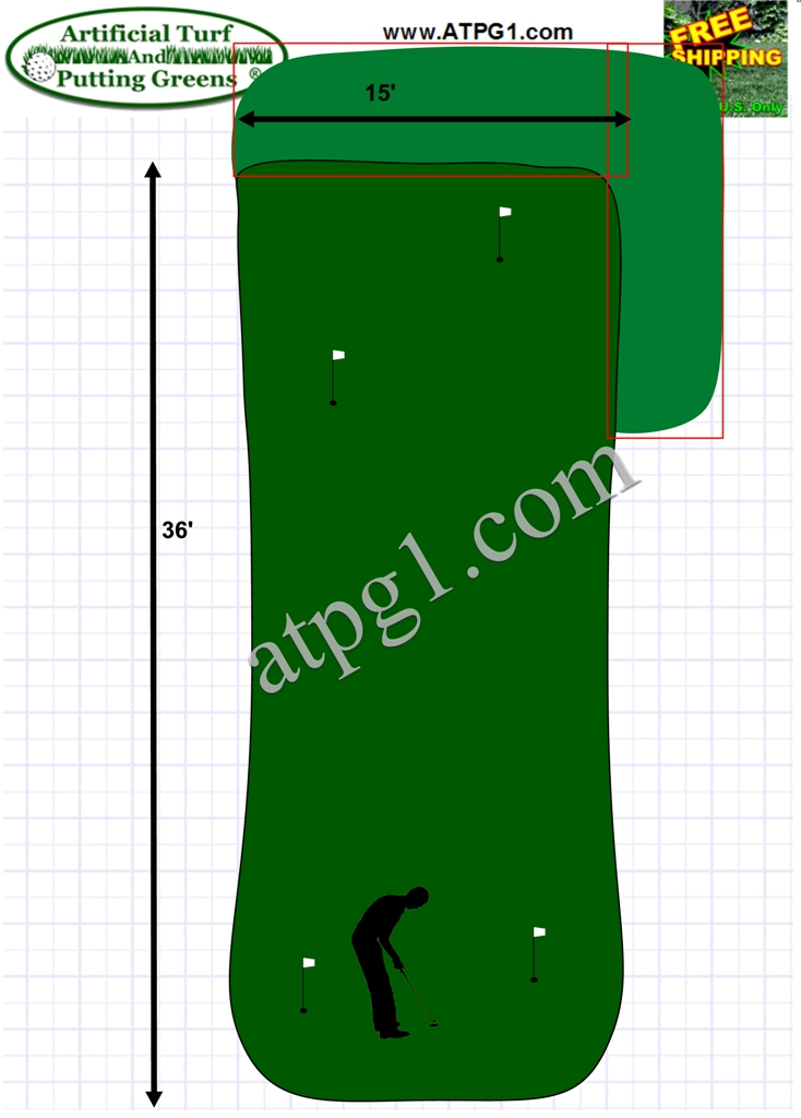 wholesale putting greens free putting green plan designs